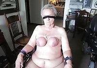 Granny Tit Torture