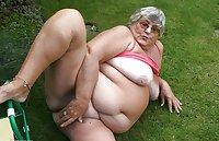 Granny Libby - Weeding