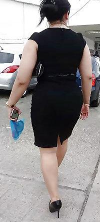 milf grandota en falda