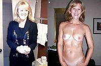 Mature Women Dressed & Undressed 4