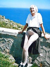 Grannies upskirt