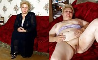 old ladies love to undress